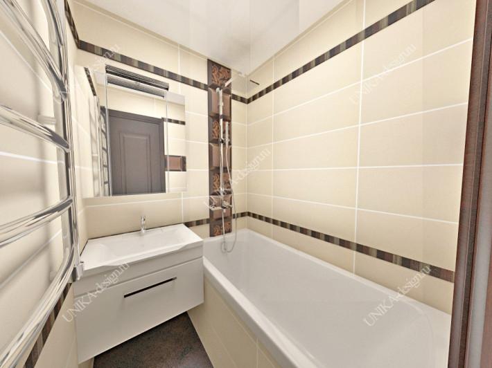 дизайн интерьера ванной комнаты и туалета
