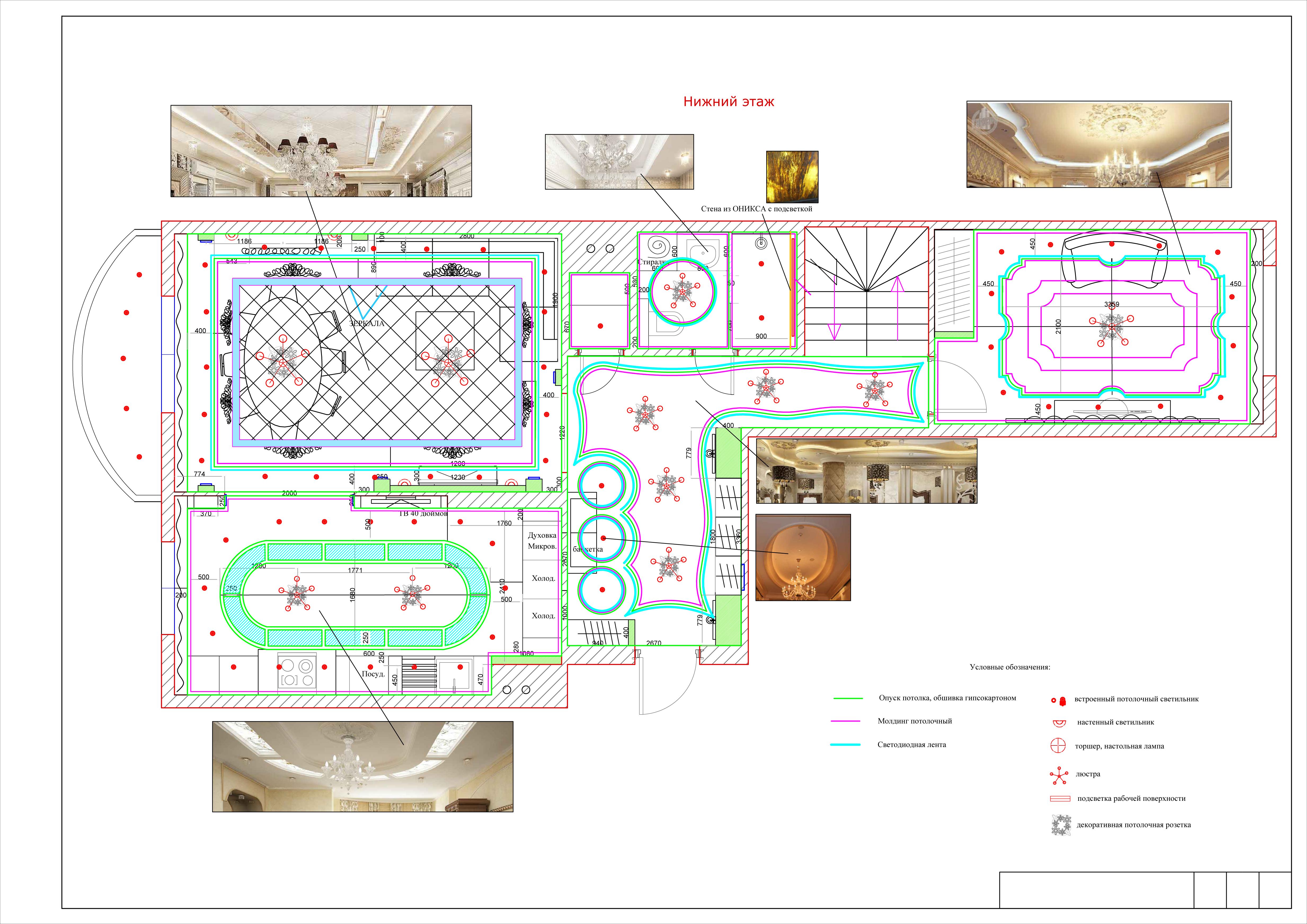 Схема электропроводки 1 комнатной квартиры - Energy