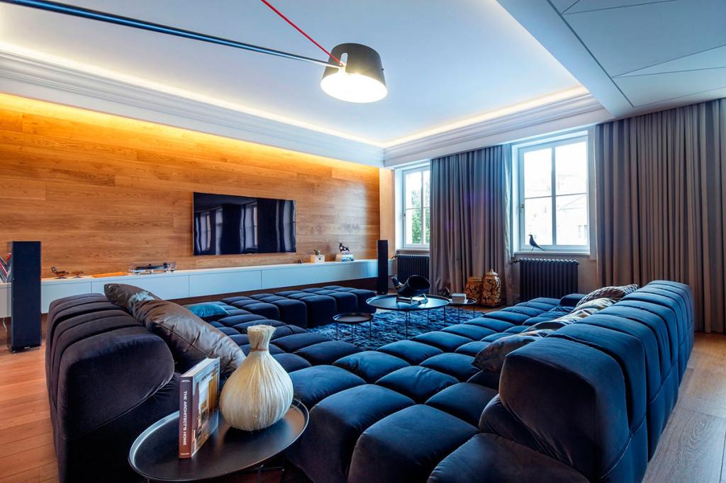 стильная гостиная